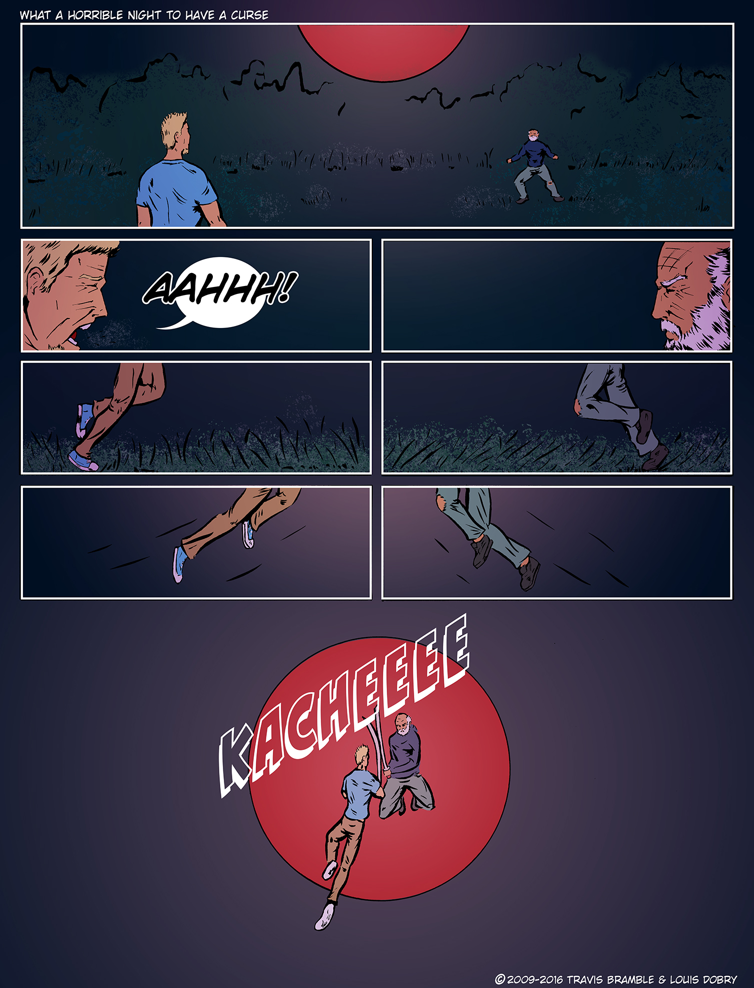 What A Horrible Night To Have A Curse pg.3