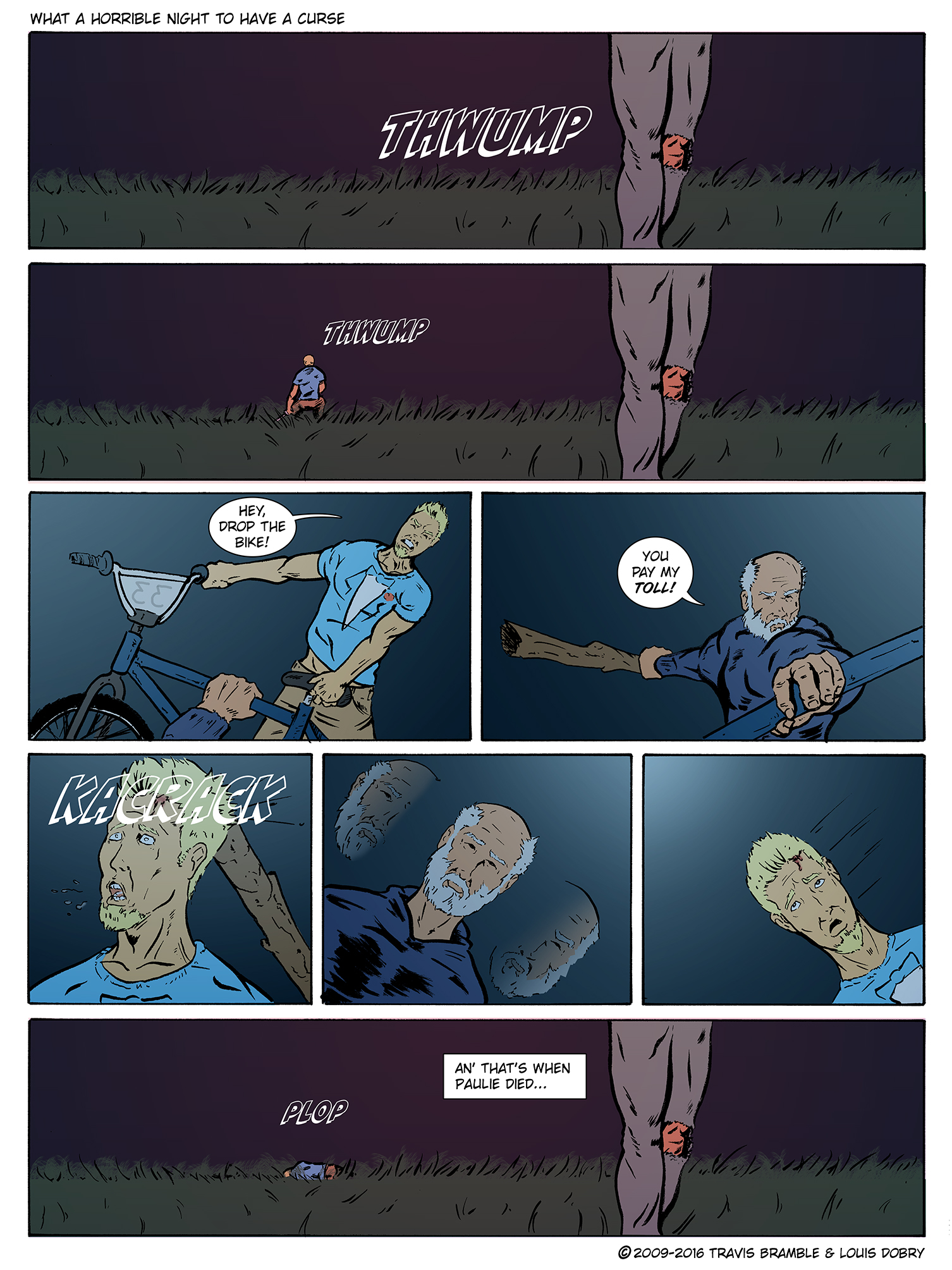 What A Horrible Night To Have A Curse pg. 4