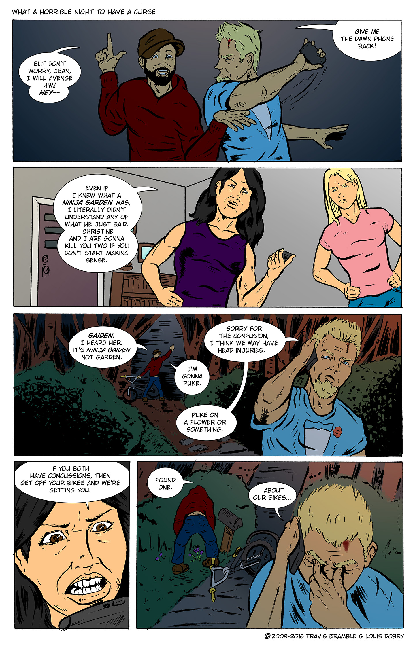 What A Horrible Night To Have A Curse pg. 5