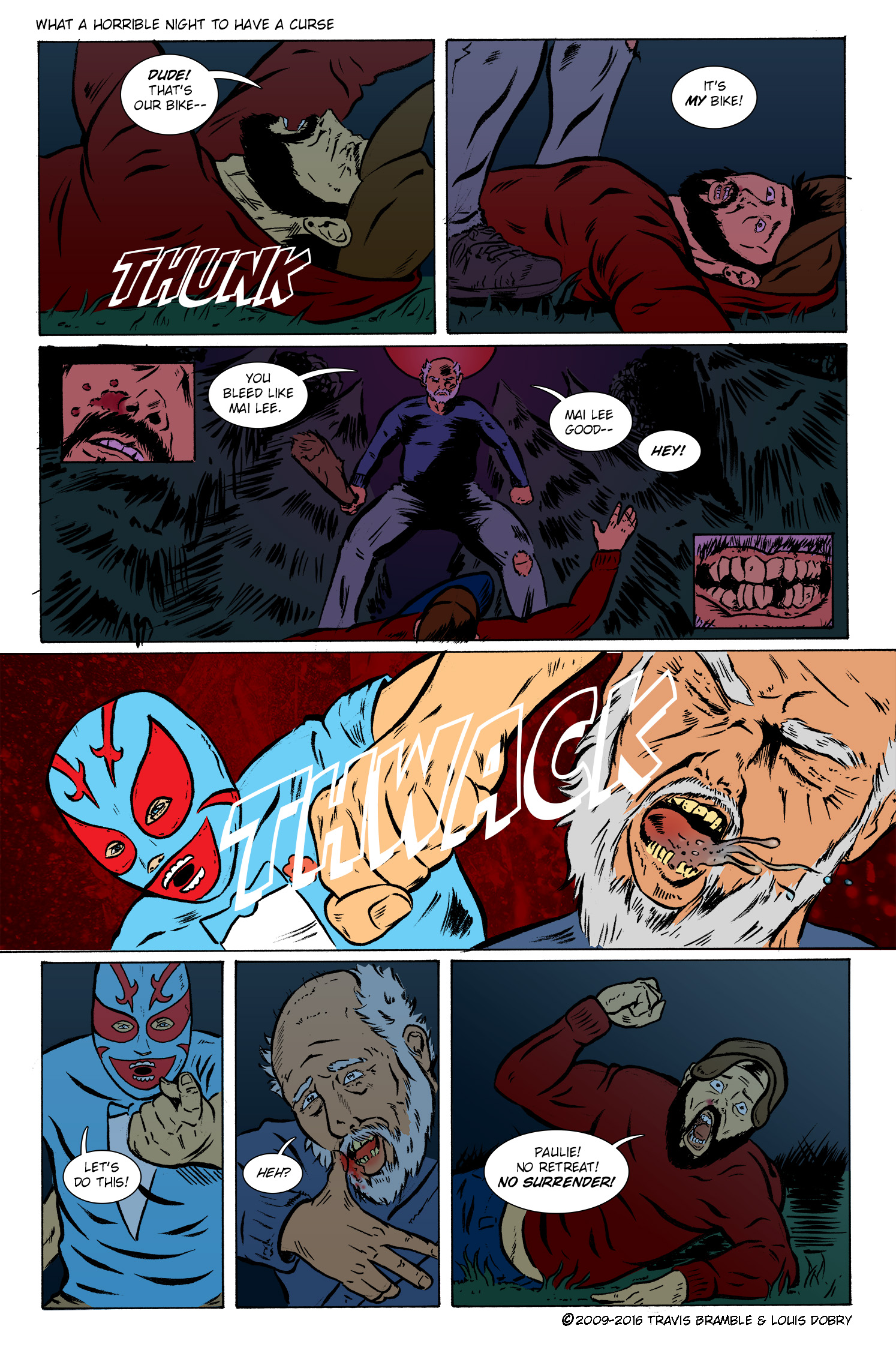 What A Horrible Night To Have A Curse pg. 6