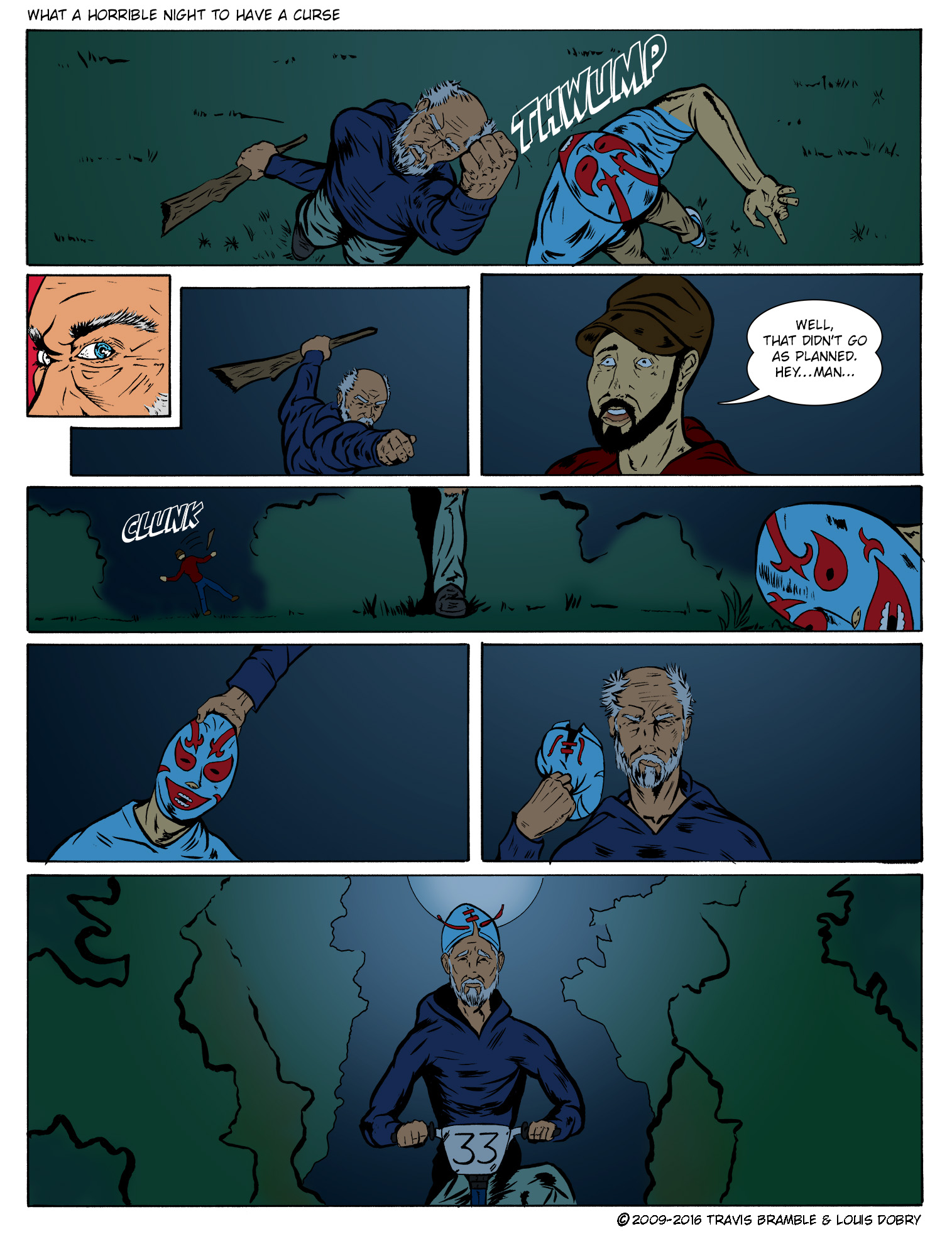 What A Horrible Night To Have A Curse pg. 7